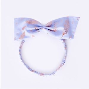 Ivivva Girls NWOT Lavender Bow-Tiful Headband